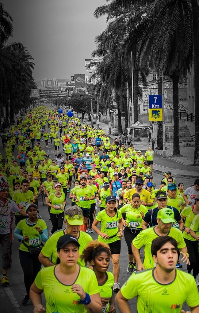 Media Maratón Cali 2018