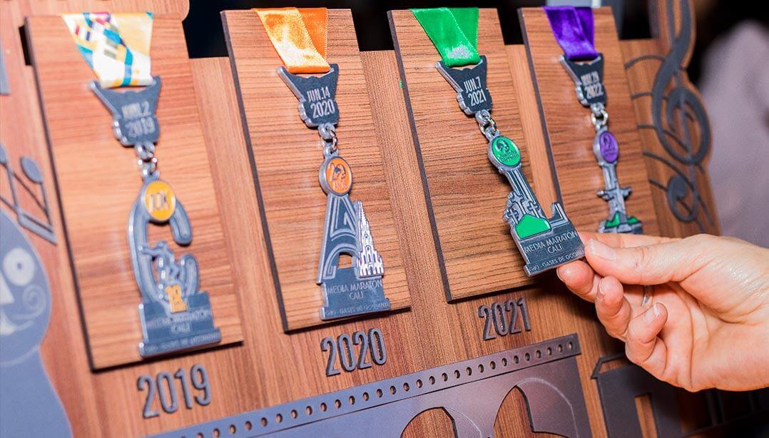 Medallas Coleccionables MMC 2021
